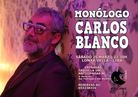 Cartel - Carlos Blanco