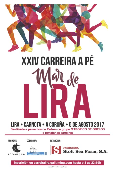 CARTEL CARREIRA 2017 LIRA