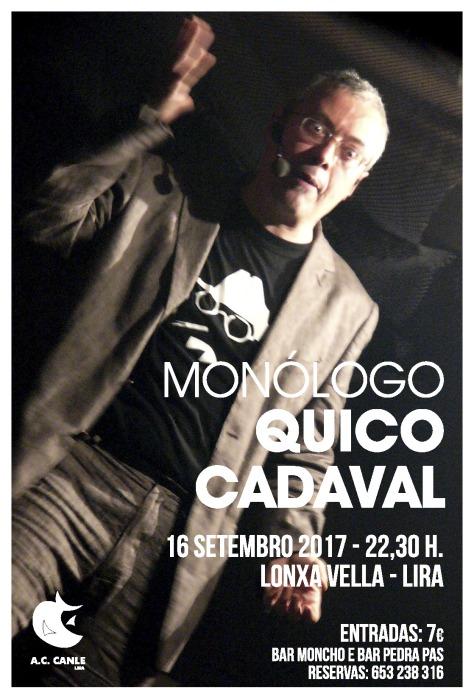 cartel quico cadaval 2017
